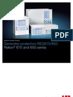 1MRK502046-SEN en Generator Protection REG670 650