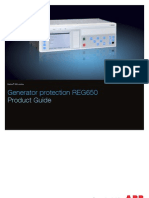 1MRK502045-BEN - En Product Guide Generator Protection REG650 1.2 IEC