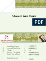 Advanced Wine Course