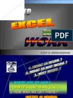 How to Excel in Work