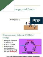 14AP Physics C - Work and Energy