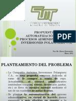 Propuesta Automatizacion Procesos Administrativos Inversiones Polanpieru
