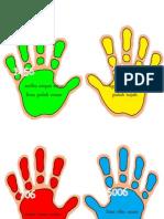 Nombor - Hand Print