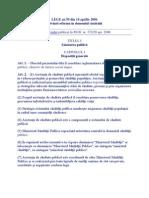 Legea Nr 95 Din 2006