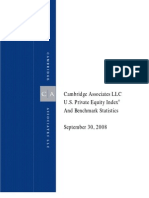 Cambridge Associates PE Benchmarks