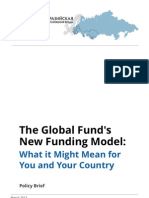 Policy Brief - The Global Fund\'s New Funding Model