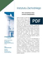 Jadwiga Kiwerska, Stan i perspektywy relacji niemiecko-amerykańskich