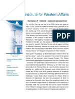Jadwiga Kiwerska, Germany - US relations - state and perspectives