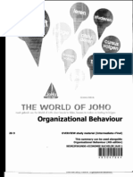 Organizational Behaviour Summary-1