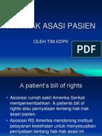 Hak-hak Asasi Pasien