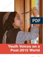 Youth Voices on a Post-2015 World