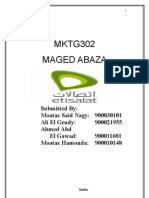 Etisalat Marketing Plan