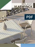 Catalogue mobilier outdoor Roland Vlaemynck