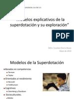 modelos de superdotación
