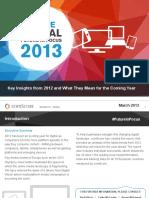 2013 Europe Digital Future in Focus