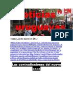 Noticias Uruguayas Viernes 22 de Marzo Del 2013