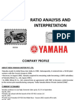 Yamaha Ratioanalysis
