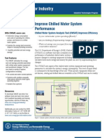 Chilled Water System Analysis Tool Fact Sheet