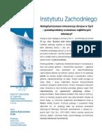 J. Dobrowolska-Polak, Nielegitymizowana interwencja zbrojna w Syrii - prawdopodobny scenariusz najbliższych miesięcy?