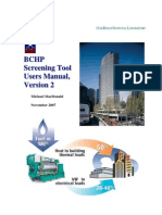 BCHP Screening Tool Version-2 Users Manual