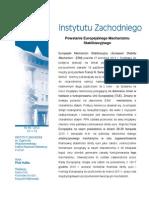 Piotr Kalka, Powstanie Europejskiego Mechanizmu Stabilizacyjnego