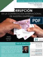 Corrupción en las empresas