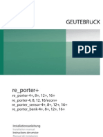 Re Porter Plus 7.74007 IA de en FR ES