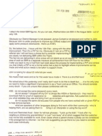 DWP Whistleblower Letter