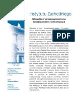 Z. Mazur, Stiftung Flucht Vertreibung Versöhnung