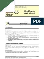MLG 03 - Identificação Médico-Legal