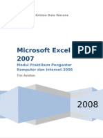 Modul Excell 2007