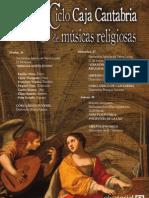 XLII Ciclo Caja Cantabria de Músicas Religiosas