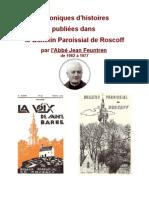 Histoires Roscoff par l'abbé Jean Feutren