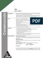Masilla Elástica - Especificación Masilla Sikaflex 1-A