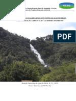 Caracterização ambiental da Cachoeira dos Pretos