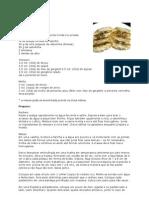 Guioza de camarão com molho picante de gengibre
