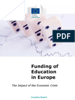 European Comission 2013_eurydice Report, Funding of Education in Europe 'the Impact of the Economic Crisis'