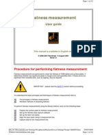 Flatness Measurement Guide
