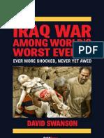 """Iraq War Among World's Worst Events"", David Swanson"