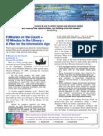 Jonathan Gassman  March 2009 Newsletter