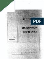 Dicionario de Eng. Geotecnica (inglês-português)