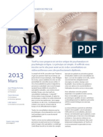 TonPsy Dossier de Presse