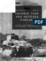 Japanese Tank and Antitank Warfare