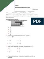 prueba de sintesis matemáticas 5°básico