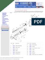 Replacement Parts for 3M Pneumatic Inline Sander 28339 Parts