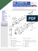Replacement Parts for 3M Pneumatic Disc Sander 28408 Parts