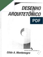 DESENHO ARQUITETÔNICO - Gildo A. Montenegro