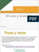 Verso, Medida, Rima y Estrofa
