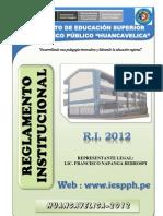 Reglamento Institucional 2012 Final Francisco Final