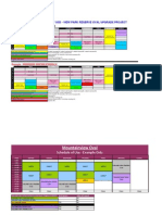 Schedule of Use Examples